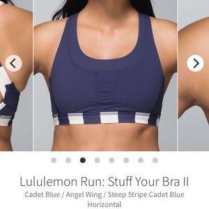 Lululemon Stuff Your Bra II - Sz 10